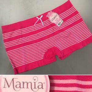 3/$20 or 🎁 FREE GIFT Mamia Pink Boyshort Seamless